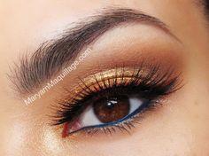 ! Maryam Maquillage !: Golden Goddess Luminess Airbrush Makeup