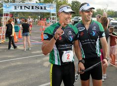 Photos: Gaylord Hospital's Para-Triatheletes Compete in Triathlon 9/8/12
