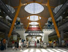 Richard Rogers 2007 Laureate, Terminal 4, Madrid Barajas Airport, Madrid, Spain, 2005