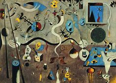 Joan Miró. Harlequin's Carnival. 1924.