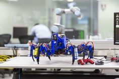 Robot Spiders Weave Products from Plastic in a New Spin on 3-D Printing