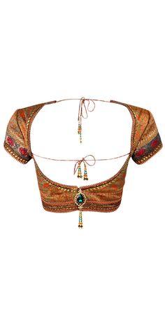 Gorgeous Tarun Tahiliani Open Back Choli Blouse
