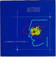 "Buzzcocks - Harmony in my Head, 7"" vinyl single, c.1979, punk classic"