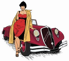 As if you were on fire from within, the moon lives in the lining of your skin ~Pablo Neruda Psa Peugeot Citroen, Citroen Car, Art Deco Illustration, Illustrations, Desenho Pop Art, Art Deco Car, Traction Avant, Citroen Traction, Comic Manga