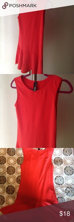 NEW BOBI RED FLARE DRESS Adorable BOBI LOS ANGELES 100% COTTON FLARE DRESS. Brand NEW with tag (detached). Great quality cotton material! 👍🏽 Love ❤️ it but doesn't fit me. BOBI LOS ANGELES Dresses
