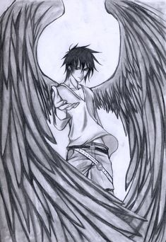 Love epic dark angel drawings.