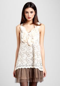 Sleeveless Lace and Tulle by Ryu