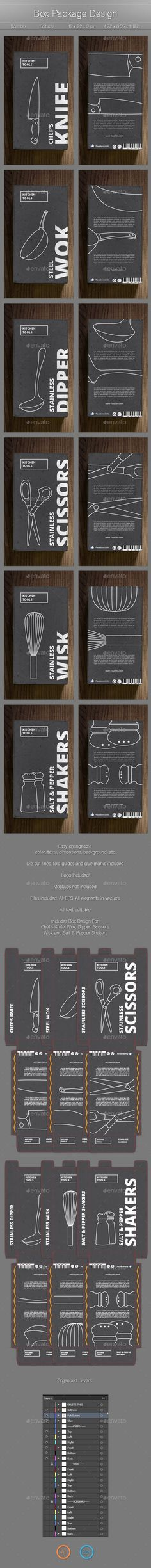 Product Box Design - Packaging Print Templates