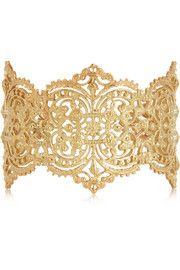 IAM by Ileana MakriChantilly gold-plated silver cuff