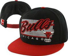 Chicago Bulls  47 Brand Kelvin Adjustable Snapback Flat Brim Hat by  47  Brand. eb12d8fd7368