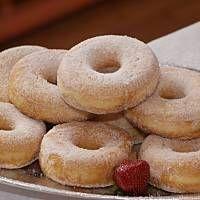 Oponki serowe mojej babci Polish Recipes, Cake Cookies, Bagel, Donuts, Sweet Tooth, Appetizers, Food And Drink, Sweets, Bread