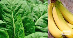 Batido Verde de Verano INGREDIENTES:  1 puñado de acelga 1 puñado de perejil 2 bananas (o plátanos) jugo de 1/2 limón 2 tazas de agua