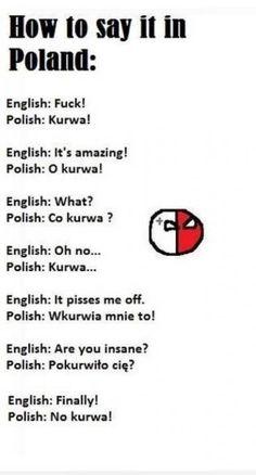 Ako sa naučiť za minútu po poľsky :D - ok..so it isn't recipes