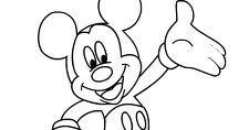 Pig coloring page Mickey Mouse Coloring Pages, Pictures To Draw, Digital Stamps, Art Pages, Tattoo Drawings, Smurfs, Concept Art, Disney Characters, Fictional Characters