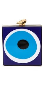 Teal Eyes, Bags Game, Greek Evil Eye, I Love My Daughter, Designer Handbags On Sale, Blue Clutch, Bling Shoes, Blue Handbags, Evil Eye Jewelry