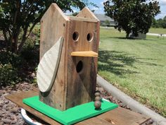 Handmade Birdhouse Reclaimed Wood OOAK The by PurveyorsOfFineJunk