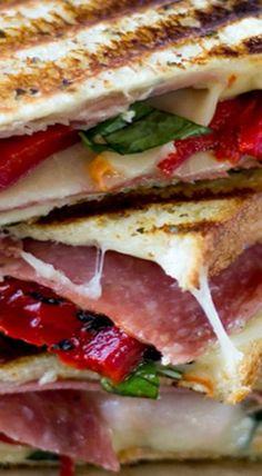 Italian Grilled Cheese Sandwich
