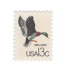 1978 Canadian Wildlife Series  10 each of - 13c Mallard  Type of Stamp: Commemorative Scott Cat No.: 1757b Face Value: 13 cents each Date of