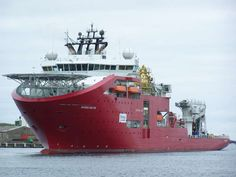 Skandi Arctic - Largest Purpose Built Saturation Dive/IRM Vessel - Built STX Europe at Søviknes