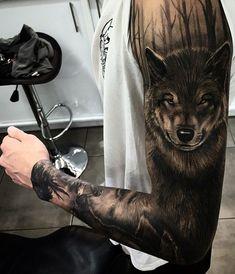 So Hot Full Sleeve Men's Tattoo Ideas