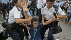 Hong Kong pro-democracy protesters scuffle with residents, cancel talks with government  Bay State Conservative News on Facebook - https://www.facebook.com/pages/Bay-State-Conservative-News/232712126794242