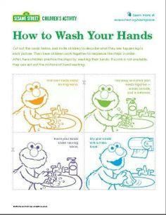 Sesame handwashing
