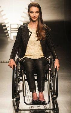 Vocês sabem o que é Moda Inclusiva? São peças especiais voltadas para pessoas portadoras de deficiência! Você já pensou como deve ser difícil colocar...
