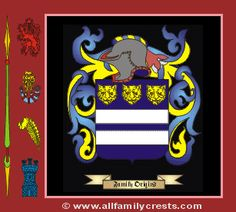 Marshall family crest and meaning of the coat of arms for ...