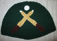 Crochet Pool Table Hat