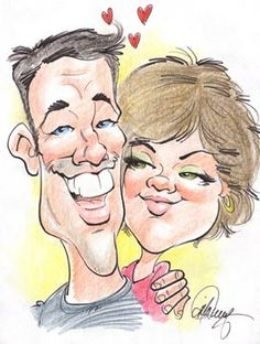 Find the Ultimate New Jersey Wedding Caricatures here!