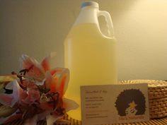 Organic Peppermint Body & Massage Oil 64oz/Half Gallon