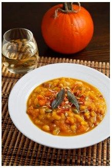 Roasted Pumpkin, Pancetta and Sage Soup