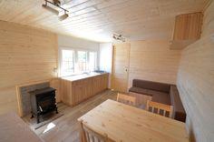 Domek Drewniany Całoroczny 11x3,5m - Letniskowo