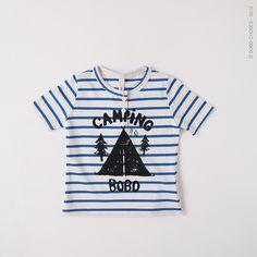 goldfish.be » Gestreepte Camping T-shirt