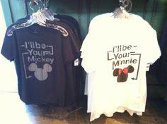 Disney couples t-shirt :)