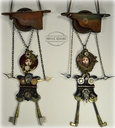 Art Dolls by Vintage Remains
