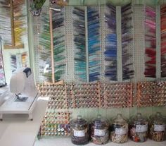 Crafty Girl Bliss: Craft Storage Ideas From Pinterest