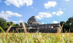 """""""El Caracol"""" - the astronomy observatory at the oldest part of the archaeological site of Chichen Itza. Cancun, Tulum, Swimming With Whale Sharks, Mayan Ruins, Tour Operator, Archaeological Site, Riviera Maya, Merida, Snorkeling"""
