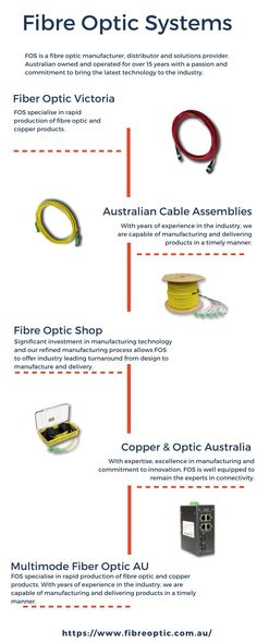 FOS specialise in rapid production of fibre optic and copper products. With years of experience in the industry, we are capable of manufacturing and delivering products in a timely manner. Fiber Optic, Copper, Products, Gadget, Brass