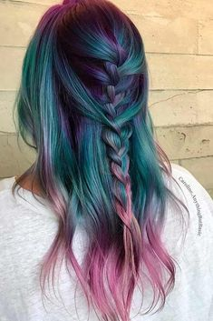 New Trend Hairstyles For Women 21 Chic and sexy Blue Hair Sty . - New Hair Styles Beautiful Hair Color, Cool Hair Color, Pretty Hair, Trendy Hairstyles, Braided Hairstyles, Modern Haircuts, Updo Hairstyle, Popular Hairstyles, Everyday Hairstyles
