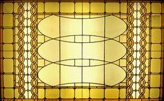 Sullivan Auditorium Building Stained Glass by Atelier Tee via foter.com #Louis_Sullivan #Auditorium_Building #Stained_Glass #Atelier_Tee