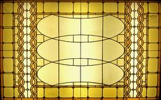 Sullivan Auditorium Building Stained Glass by Atelier Tee via foter.com #Louis_Sullivan #Auditorium_Building #Stained_Glass #Atelier_Tee