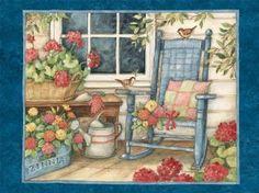 I get a Susan Winget Heart & Home Calendar every year...beautiful.