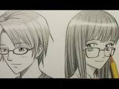 Image result for how to draw character with spectacles