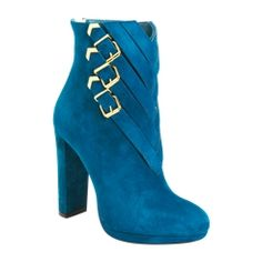 Graceful Chunkly Heels Kid Suede Short Boots
