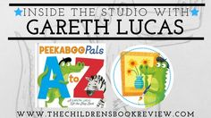 In the Studio with Gareth Lucas, Creator of Peekaboo Pals