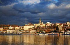 The Sava river, Belgrade, Serbia
