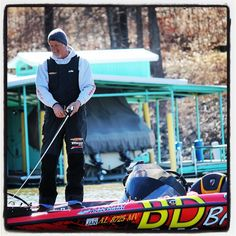 Alabama angler Boyd Duckett is just one of the pros fishing on Grand Lake today as the #bassmasterclassic unofficial practice weekend gets underway. - Kaylea M. Hutson-Miller / Grove Sun