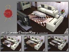 MB-HomeDesignRug---Sims 4  4 verschiedene Teppiche mit modernen Designs, in braun-beige Farbtönen,kreiert für Sims 4, von matomibotaki.  4 different rugs in modern designs in beige and brown color shades,created for Sims 4, by matomibotaki.  https://www.allaboutsims.net/forum/index.php/Thread/16309-MB-HomeDesignRug/?postID=78622#post78622