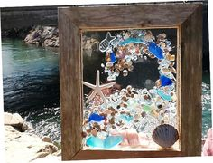 Sea Glass Sun Catcher by beachcreation on Etsy, $90.00